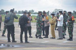 Setelah dari Sumut, Kapolri dan Panglima TNI Juga Bertolak ke Provinsi Jambi