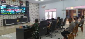 Dialog Kapolri dan Panglima TNI, Penanganan Covid-19 di Jambi, Merangin Berhasil Turunkan Tren Posit