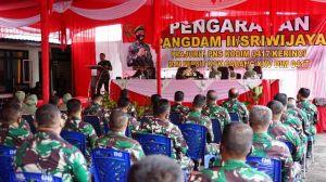 Pangdam II/Sriwijaya Kunjungi Kodim 0417/Kerinci