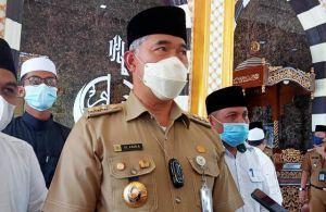 Kenang Setahun Wafat Putranya, Fasha Resmikan Masjid Muhammad Fabiansyah Putra