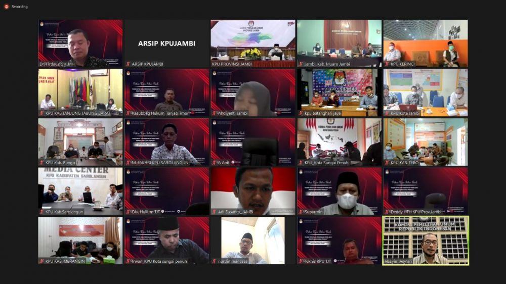 KPU Jambi Bedah Hukum Pemilu Persiapan Hadapi Pemilu dan Pemilihan 2024
