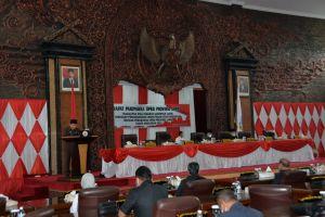 Gubernur Jambi Jawab Pandangan Umum Fraksi DPRD Soal APBD-P 2021