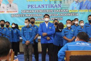 150 Pengurus KNPI Sungai Penuh Resmi Dilantik