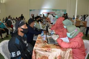 Al Haris Sambut Baik Vaksinasi Massal di PTPN VI Jambi