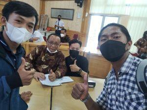 Kunjungi Prof Sustrisno, Ribuan Kader KAMMI Jambi Siap Sukseskan Implementasi Kampus Merdeka di UNJA