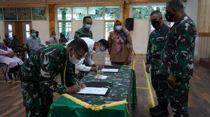 Danrem Pimpin Penandatanganan Pakta Integritas Rekrutmen Calon Tamtama PK Gelombang II