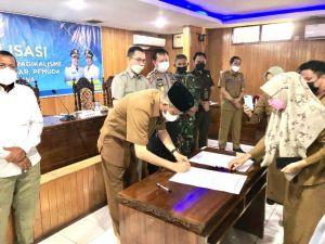 Kesbangpol Provinsi  Gelar Sosialisasi Warga Komitmen Tolak Radikalisme dan ISIS