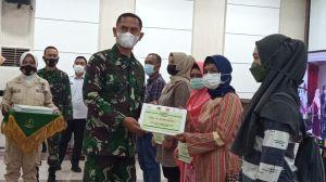 Kodim 0415/Jambi Berikan BTPKLW Pada 2700 Pedagang Di Kota Jambi
