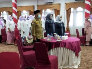 Pelantikan KPPI, Bupati Merangin Mashuri Harap Makin Banyak KeterwakilanPerempuan di DPRD