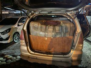 Polresta Jambi Amankan Mobil Innova Bermuatan 1,8 Ton Minyak Diduga Ilegal