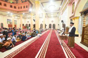 H Mashuri Maulid Nabi Bersama Warga Tabir Di Masjid At Taqwa Rantau Panjang