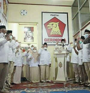 Panglima DPD Gerindra Jambi SAH Tegak Lurus Bawa Semua DPC Dukung Prabowo Capres 2024